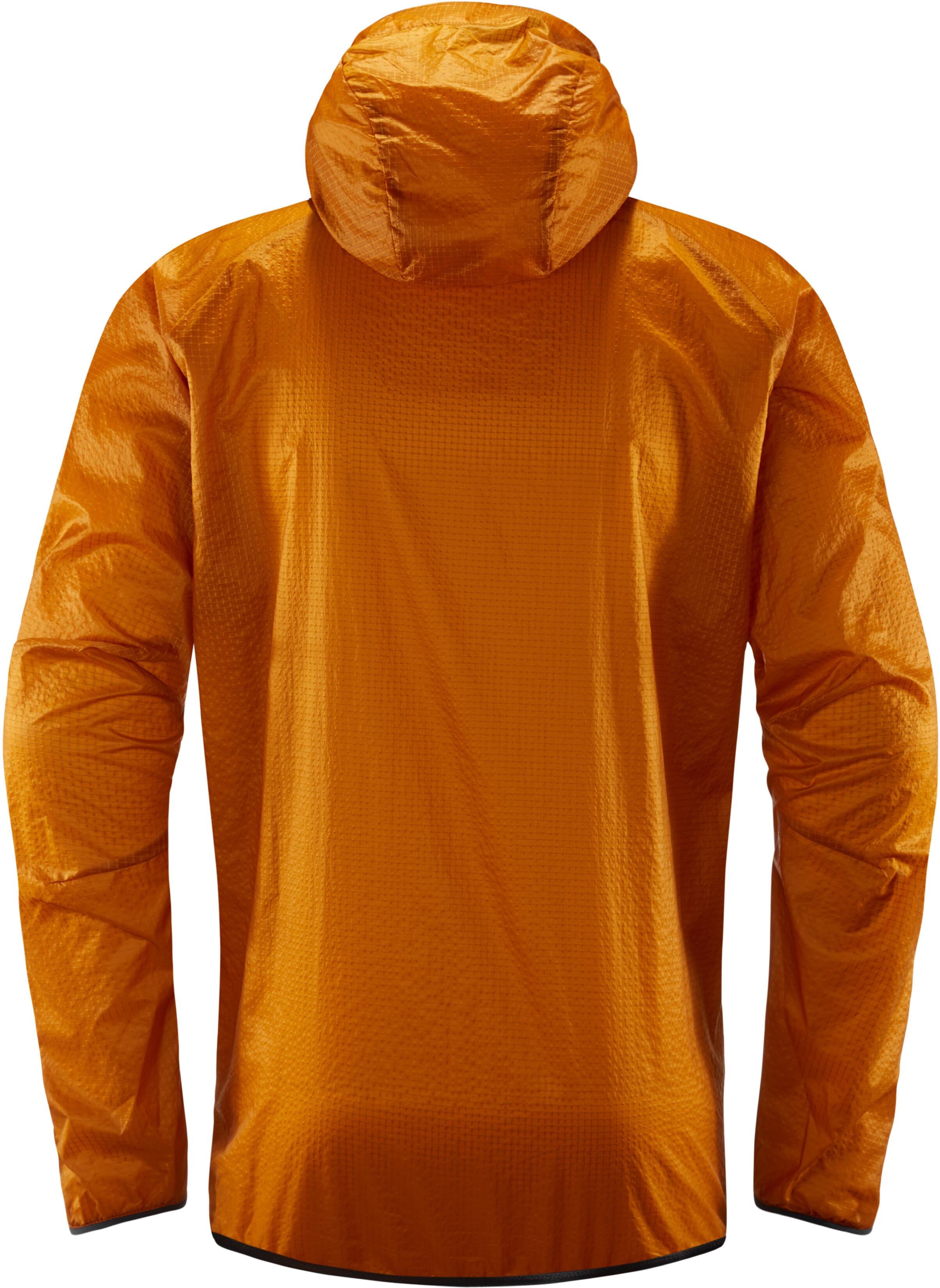 Hagl 246 Fs L I M Shield Comp Jacket Men Orange At Addnature Co Uk
